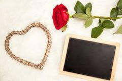 Félicitation le jour de valentines Image libre de droits