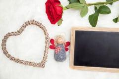 Félicitation le jour de valentines Images stock