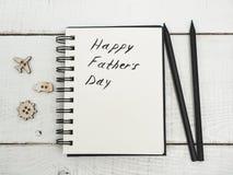 Félicitation le jour du ` s de père image libre de droits