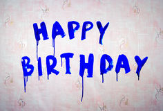 Félicitations avec l'anniversaire Images stock