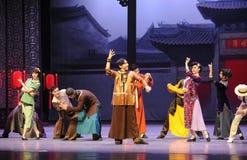Félicitez l'acte d'amis-Le d'abord des événements de drame-Shawan de danse du passé Photo stock