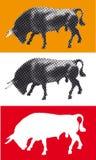 Féria espanhola Sevilha de Bull Imagem de Stock Royalty Free