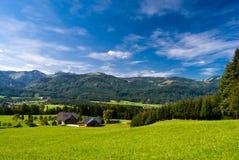 Férias da montanha no lago em Áustria Imagem de Stock