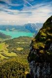 Férias da montanha no lago em Áustria Foto de Stock Royalty Free