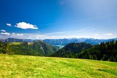 Férias da montanha no lago em Áustria Fotos de Stock Royalty Free