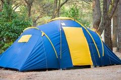 Férias da natureza da barraca de acampamento Imagens de Stock