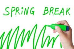 Férias da primavera foto de stock