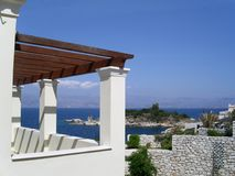 Férias de Corfu imagem de stock