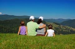 Férias de família Fotos de Stock