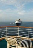 Férias de relaxamento do cruzeiro Imagem de Stock