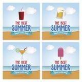 Férias de verão Imagens de Stock