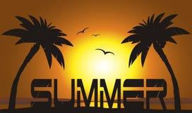 Férias de verão ilustração do vetor