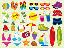 Férias de verão Foto de Stock Royalty Free