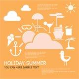 Férias de verão do feriado Imagem de Stock