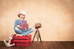Férias de verão e conceito do curso Fotos de Stock Royalty Free