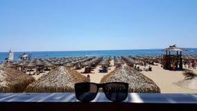 Férias de verão em Bulgária foto de stock