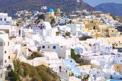 Férias de verão em greece Imagens de Stock