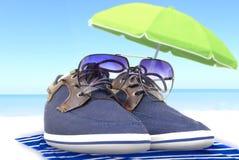 Férias de verão no mar Imagens de Stock Royalty Free