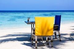 Férias de verão, Sunny Breakfast fotografia de stock