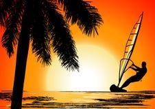 Férias de verão, vetor Fotos de Stock Royalty Free