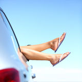 Férias do carro da viagem por estrada do verão fotos de stock royalty free