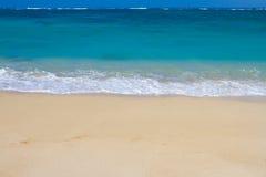 Férias do paraíso da praia de Havaí Fotografia de Stock