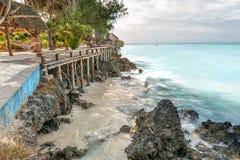 Férias em Zanzibar Fotos de Stock Royalty Free
