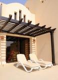 Férias na casa de campo no hotel luxuoso Imagens de Stock