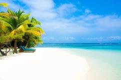 Férias na praia do paraíso Fotografia de Stock Royalty Free