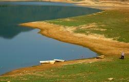 Férias no lago   Fotografia de Stock