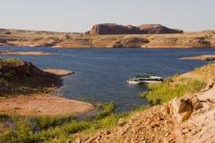 Férias no lago Powell Imagens de Stock Royalty Free