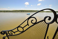 Férias no rio Fotos de Stock