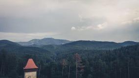 Férias Romênia da montanha Fotos de Stock Royalty Free