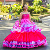 27 février 2015 Baguio, Philippines Baguio Citys Panagbenga F Photos stock