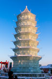 Février 2013 - Harbin, Chine - glace internationale et festival de neige Photo stock