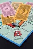 8 février 2015 : Houston, TX, Etats-Unis Voiture de monopole sur Free Parkin Image stock