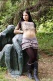 Fêmea adolescente Imagens de Stock Royalty Free