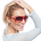 Fêmea alegre Foto de Stock