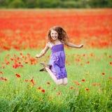 Fêmea alegre Fotos de Stock Royalty Free