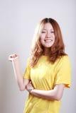 Fêmea asiática imagens de stock
