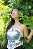 Fêmea asiática nova Imagem de Stock Royalty Free