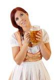 Fêmea bávara Redheaded imagem de stock