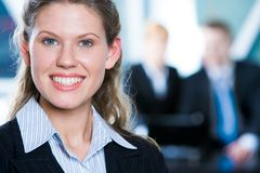 Fêmea bem sucedida Imagem de Stock Royalty Free