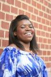 Fêmea bonita do americano africano Foto de Stock