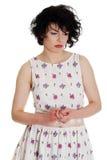 Fêmea com depressão Imagem de Stock Royalty Free