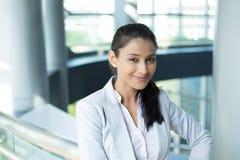 Fêmea do negócio do Headshot Imagem de Stock Royalty Free