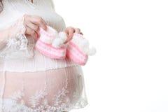 Fêmea grávida Foto de Stock Royalty Free