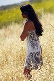 Fêmea Japonês-Havaiana no envi ao ar livre do estilo de vida Fotos de Stock Royalty Free