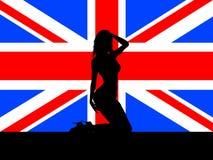 Fêmea no jaque de união Imagens de Stock Royalty Free