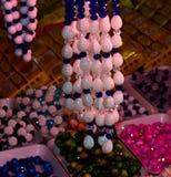 A fêmea ornaments a fotografia do fundo Foto de Stock Royalty Free